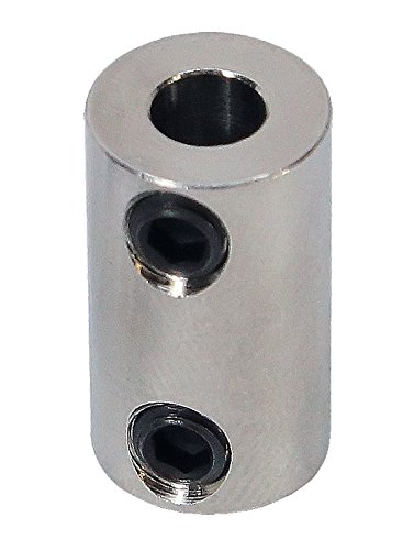 5mm to 6mm Stainless Steel Set Screw Shaft Coupler ServoCity 625226