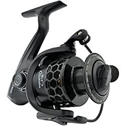 Fishdrops Spinning Fishing Reels 12+1BB Ultra Lightweight Spinning Reel Carved Aluminum Spool Affordable Smooth Reels