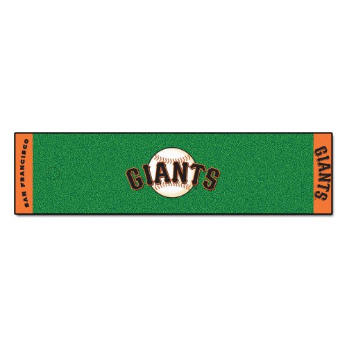 FANMATS MLB San Francisco Giants Nylon Face Putting Green (Giants Putting Green)