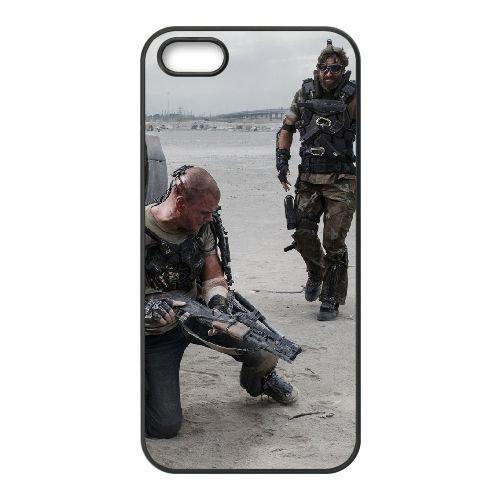 Elysium 4 coque iPhone 4 4S cellulaire cas coque de téléphone cas téléphone cellulaire noir couvercle EEEXLKNBC24857