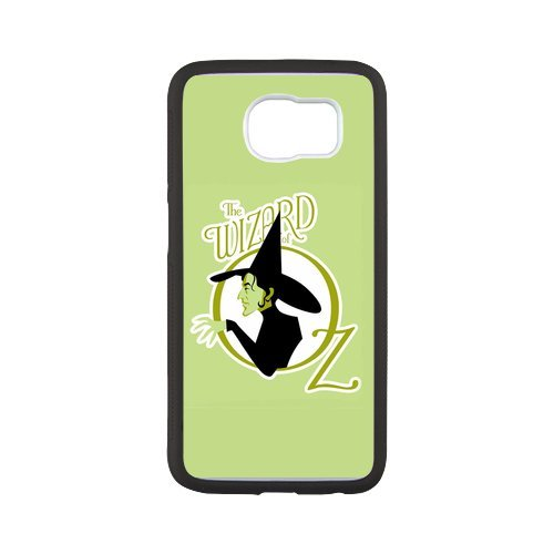 Fayruz- Personalized Protective Hard Textured Rubber Coated Case Cover for Samsung Galaxy S6 - The Wizard Of Oz -S6O1419