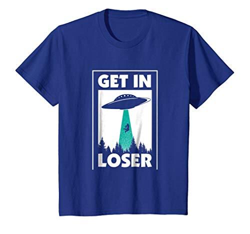 Funny Get In Loser Alien T-Shirt Aliens Extraterrestrial tee