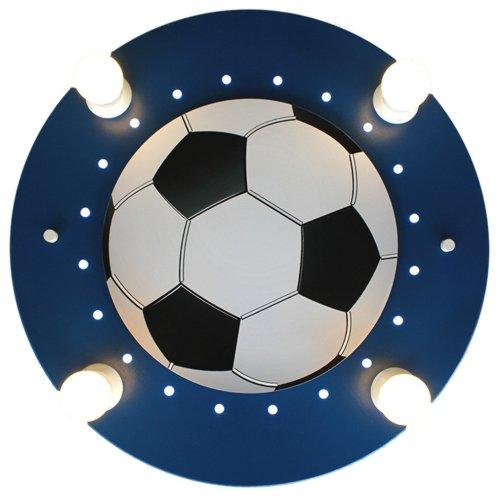 elobra - Luces de pared o techo, diseño de balón de fútbol, color ...