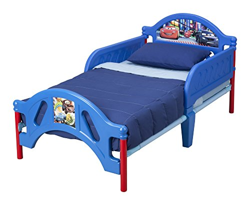 Delta Children Plastic Toddler Bed Disney Pixar Cars