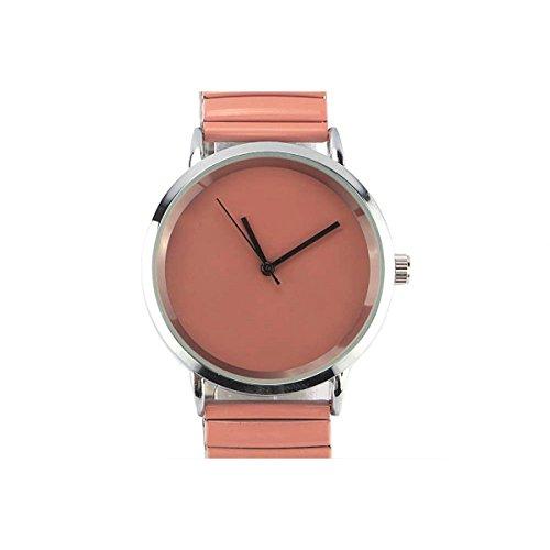 Michael John – Reloj Mujer Rosa Reloj acero y rosa Lola