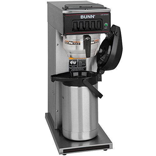 Bunn CW15-APS Pourover Airpot Brewer with Gourmet Funnel - No Hot Water Faucet 120V (Bunn 23001.0062)