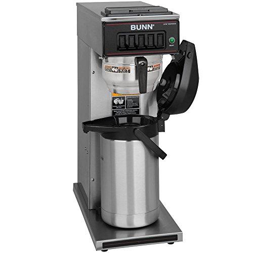 Bunn CW15-APS Pourover Airpot Brewer with Gourmet Funnel - No Hot Water Faucet 120V (Bunn (Aps Airpot)