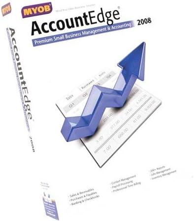 Myob Accountedge 2008 for Mac Also Includes Network Edition