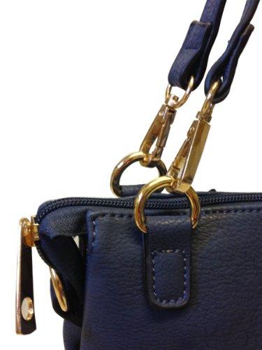 Bandoulière Neuf Multi Sac Designer Marine Ltd Bleu Sacoche Femmes Main Avashion À Mode Poche tBrxhQsdC