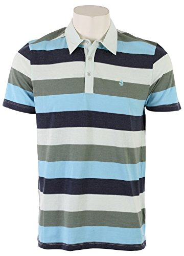 Volcom Men's Paco Stripe Polo Shirt