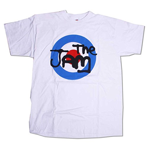 Old Skool Hooligans The Jam T Shirt - 100% Official Jam Mod Target Paul Weller Mod Rickenbacker-l