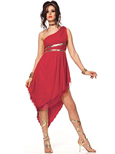 Ladies Toga Costumes (Ruby Goddess Toga Adult)