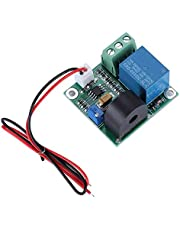 Wendry 5A 12V Relay Module, 5V 0-5A AC Current Detection Sensor Module Relay Module Overcurrent Protection