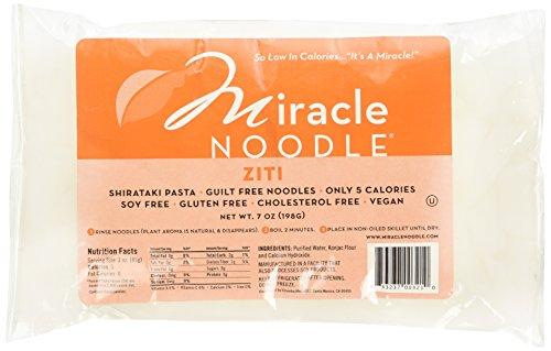 Miracle Noodle Shirataki Ziti Noodles 6 Packs of 7 oz