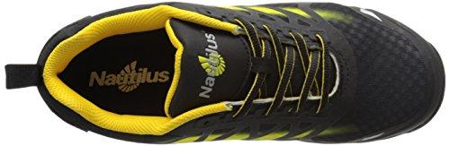 Nautilus 2436 Mens Punta Sicurezza Advanced Esd Nano Carbonio Pattino Di Lavoro Atletico Giallo