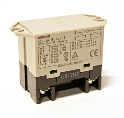 Relay 120 V Input & Load Relay 25 Amps