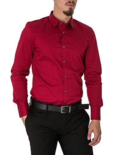 Morato Camicia Antony Casual Uomo Rosso wZqx8dq57