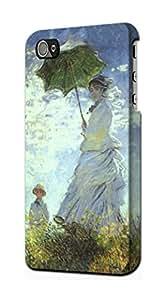 E2415 Claude Monet Woman with a Parasol Funda Carcasa Case para IPHONE 5 5S