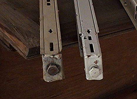 "Streater  15/""L X 3/""H Free Standing Divider Gondola Shelf Chrome US Lot of 25 NEW"