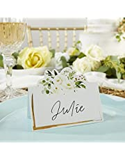 Kate Aspen Botanical Garden Tent (Set of 50) Seating Place Card, One Size, Multi