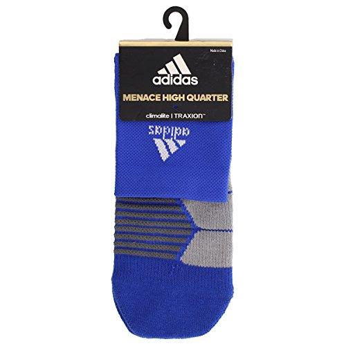 961597d4a adidas Traxion Menace Basketball/Football High Quarter Socks - Buy ...