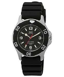 Q&Q Regular Analog Black Dial Men's Watch - H950J002