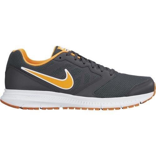 NIKE - NIKE DOWNSHIFTER 6 MSL - 684658 012 - Chaussures d'athlétisme - Homme - Taille: 42 - Gris / Orange / Blanc