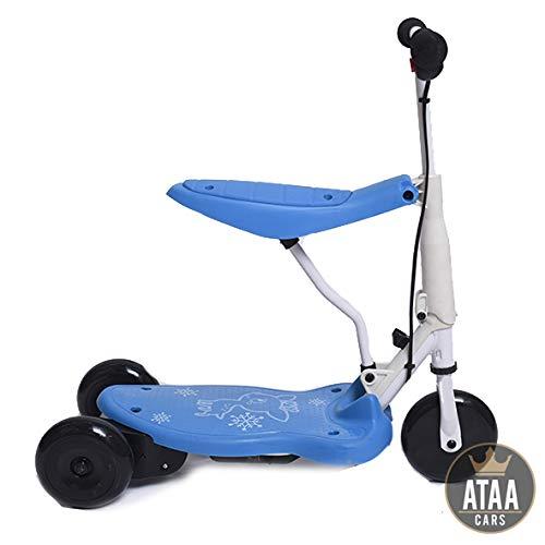 Triciclo Patinete eléctrico para niños Chick batería 6v ...
