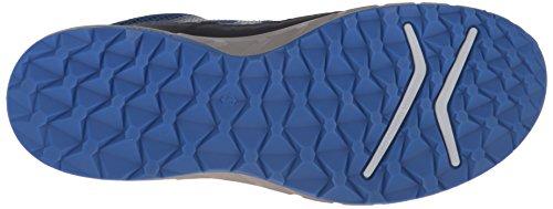 EccoECCO TERRATRAIL - Zapatillas de Running para Asfalto Hombre Multicolor (BLACK/POSEIDON/BERMUDA BLUE59985)