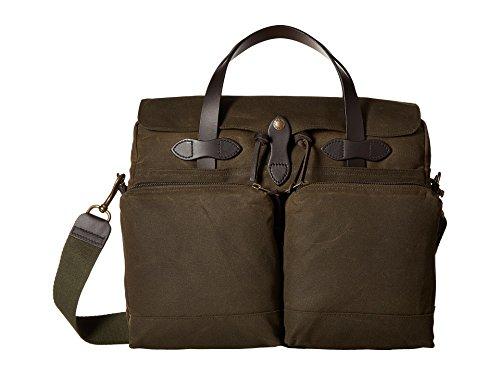 Filson 24-Hour Tin Cloth Briefcase (Otter Green) ()