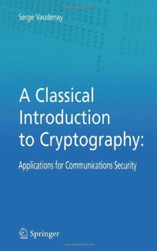 Download A Classical Introduction to Cryptography Pdf