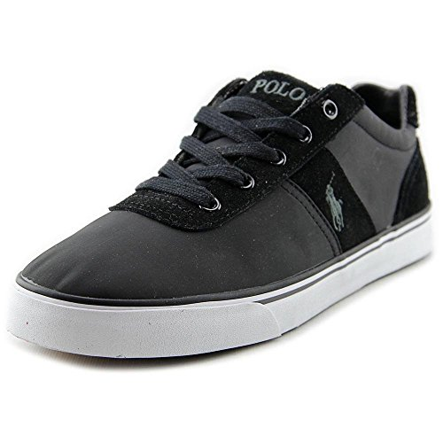 Polo Ralph Lauren Hanford Men US 8.5 Black Sneakers UK 7.5 EU - Polo Ralph Uk Lauren