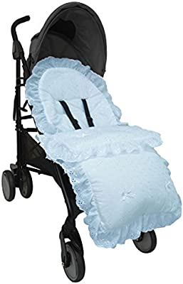 Broderie Anglaise saco/Cosy Toes Compatible con Bugaboo ...