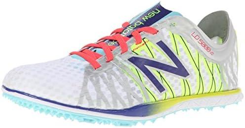 a867c484b4 New Balance Women's WLD5000 Long Distance Spike Shoe,Silver/Purple,5 ...