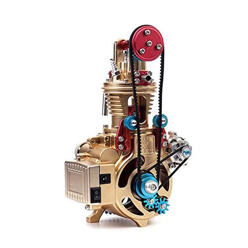 YAGEER DIYAlloy Car Alloy car Assembly Engine Craftsman Mini Single Cylinder car Engine Model Adult Children Handmade…