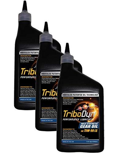 Fully Gear Synthetic Oil (TriboDyn 75W-90 Limited Slip Fully Synthetic Gear Oil (3 Quart Pack))