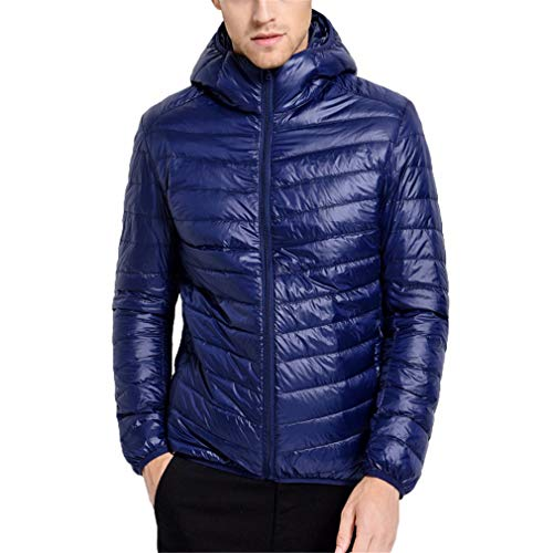 Warm Blue Men Male Winter Ultralight Coat Duck White Jacket Windproof Down Parka Casual Men's Hangyin Autumn qwfZR8c7
