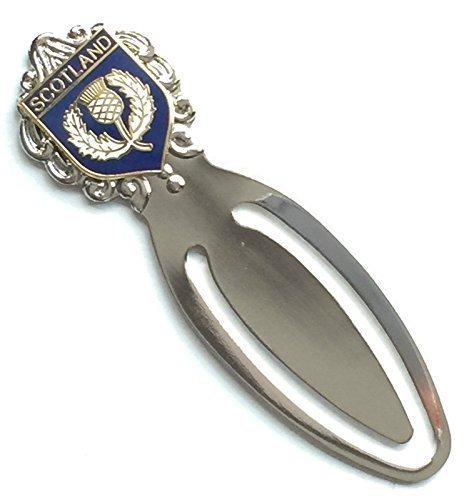 Scozia Cardo Smalto Con stemma Segnalibro & Sacchetto Regalo (T203)) Emblems-Gifts