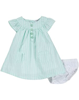 Baby Girls' Poplin Dress (Baby) - Fish