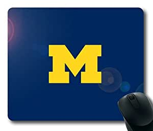 Michigan Wolverine Themes Rectangle Mouse Pad by eeMuse