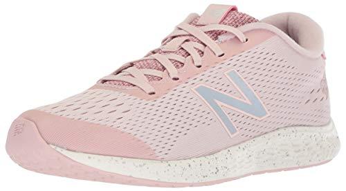 (New Balance Girls' Arishi Next V1 Running Shoe, Conch Shell/Silver, 11 M US Little)