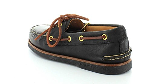 Authentic Black Sperry Sider Men's Original Boat Shoe Top Gold Ix8xHw