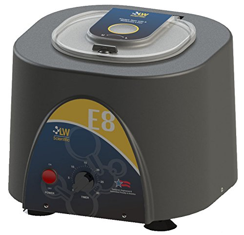 LW Scientific E8C-U8AF-1503 Fixed Speed E8 Centrifuge, Angled 8-Place with Timer, 110/220V by LW Scientific