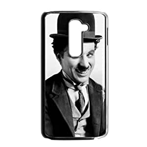 LG G2 Black Chaplin phone case cell phone cases&Gift Holiday&Christmas Gifts NVFL7A8825521