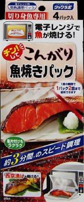 小林製薬 チンしてこんがり魚焼きパック 4枚入×48点セット (4987072062333)