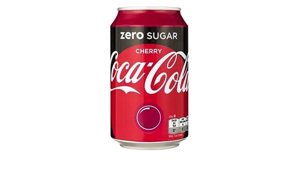 72 x Coca Cola Zero Cherry cans, dosen, canettes, latas, lattine 0 ...