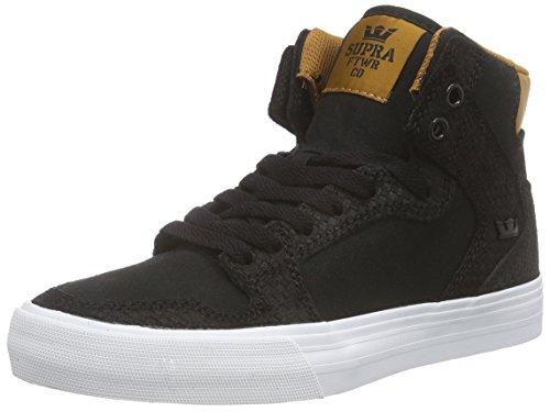 Supra Vaider LC Sneaker Schwarz / Cathay Gewürz / Weiß