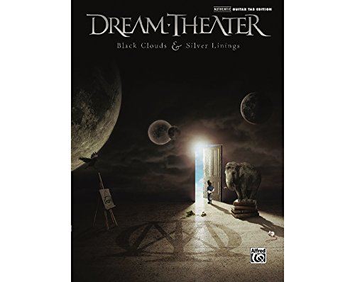 Alfred Dream Theater: Black Clouds & Silver Linings - Guitar Tab Book (Dream Theater Black Clouds And Silver Linings)