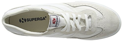 Superga 2832-NYLU Zapatillas de ante, Unisex - Adulto White