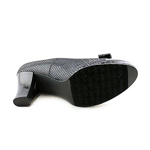 Cailin Da Donna Stile Soft Pumps Nero Lucido Snake-c / Patent Pu